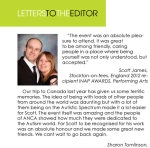 2013 letters to the editor in magazine