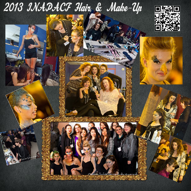 Hair and make up 2013 poster