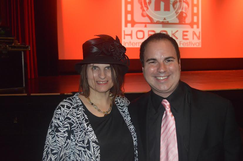 Maria Iliou at Hoboken with Kenneth del Vicchio