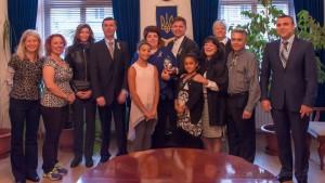 Ukraine Consulate group photo