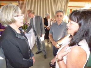Leonora at lieutnant Govenor's reception 1 June 2015