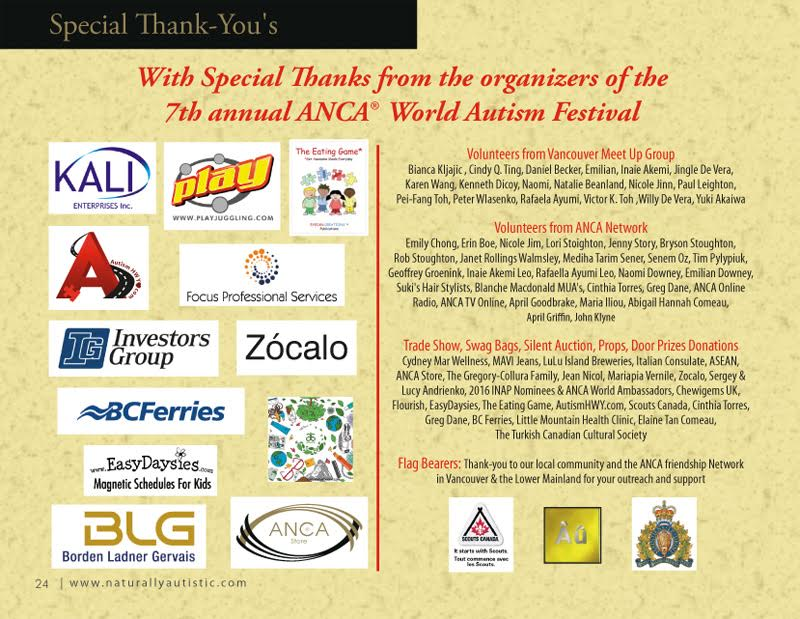 2016 AWAF program and sponsors 3