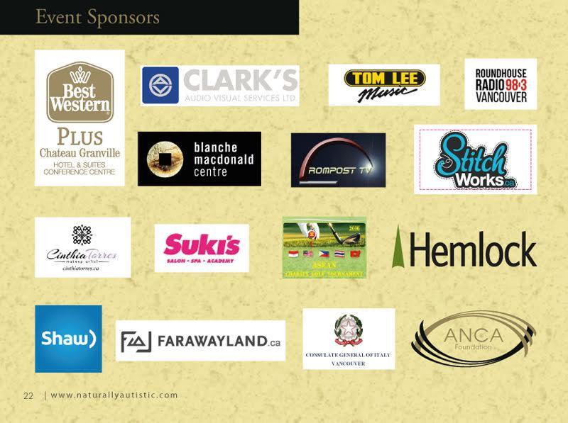 2016 AWAF program and sponsors 4