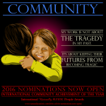 Call fo rnominations Community Poster
