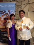 Vico Cham with recognition award 2