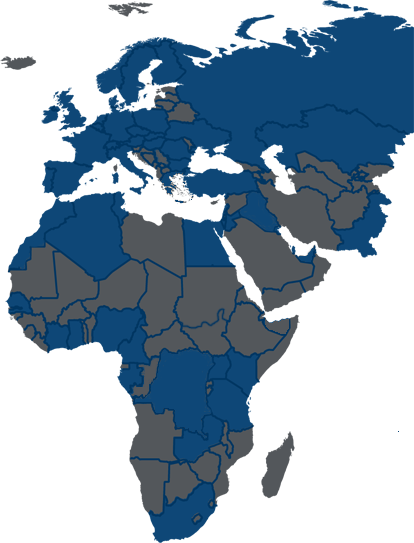 Europe middle east africa