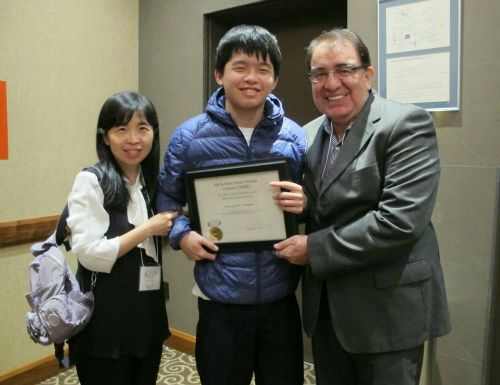 Danny Lee receives Honorary AWARD